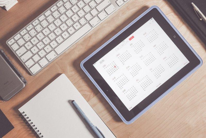 editorial calendar zakelijk bloggen