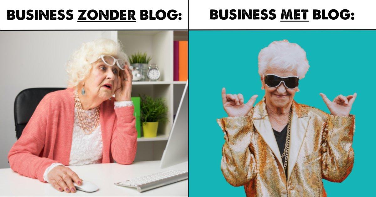 content blogs schrijven zichtbaarheid